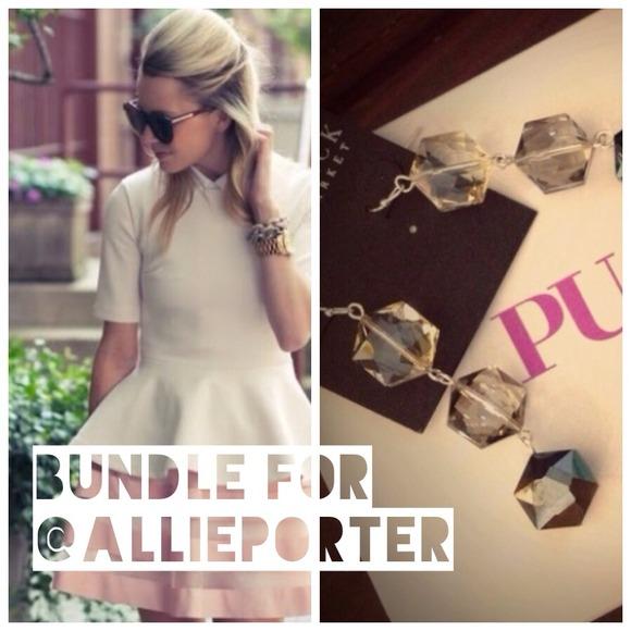 ASOS Dresses & Skirts - Bundle for @allieporter - {Skirt + ombré earrings}