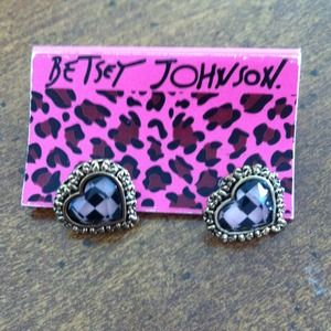 Bundled Betsy Johnson earrings