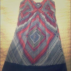 American Eagle Print Dress , size 10