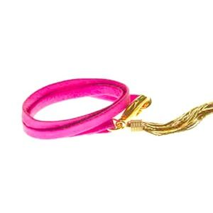 E.Kammeyer Accessories Jewelry - 🎉HOST PICK🎉Neon pink tassel bracelet