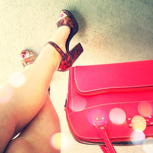 🔴SOLD AMAZING Tortoise Prada Heels!!