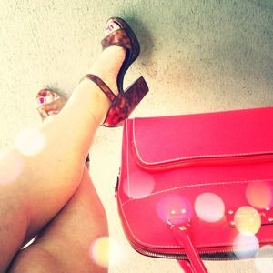 Prada Shoes - 🔴SOLD AMAZING Tortoise Prada Heels!!