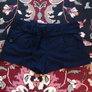 Forever 21 Pants - Forever 21 shorts with tie belt