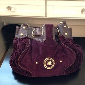 Juicy Couture Handbags - Juicy Couture plum purse💕