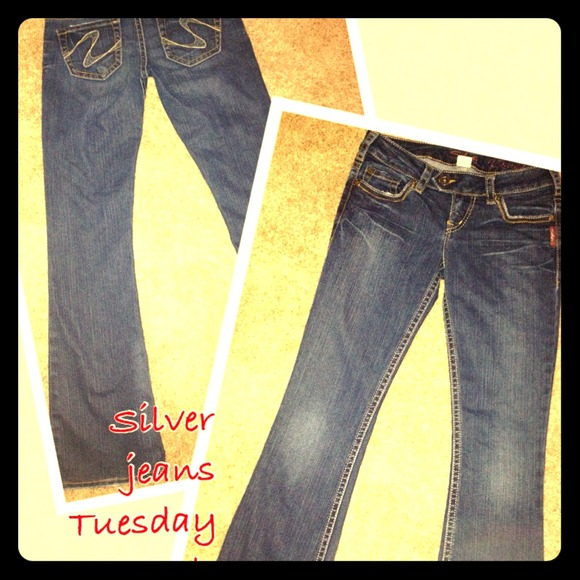 54% off Silver Denim - Gently loved Silver jeans Tuesday style ...