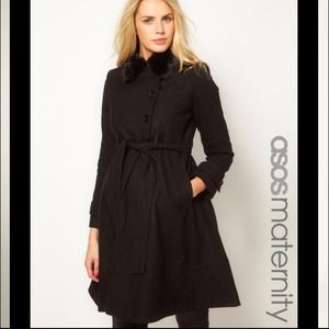 Asos Maternity Coat size 6 used 1 season⛄❄