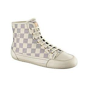 a582aec7fb4b Louis Vuitton Shoes - Authentic Louis Vuitton damier Checkered high top