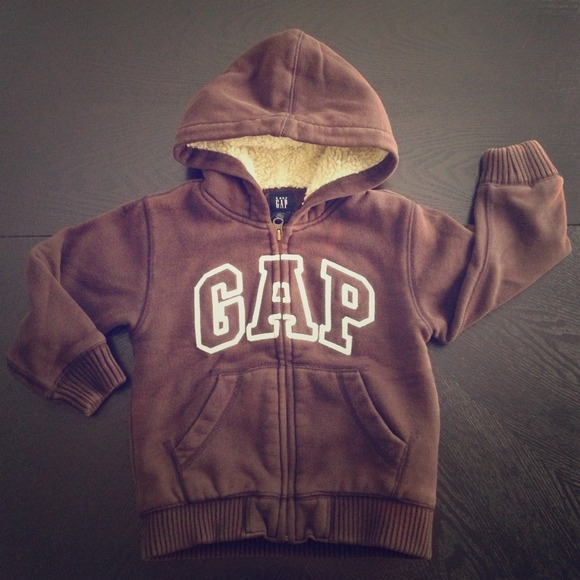 73% off GAP Sweaters - Baby Gap boys brown hoodie sweater from ...