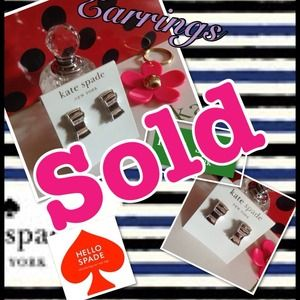 %Authentic Kate Spade earrings