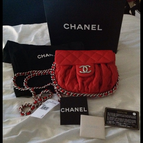 aec6d192759370 CHANEL Bags | Sold Nwt Authentic Chain Around Bag | Poshmark