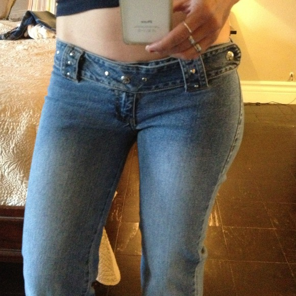 Sexy low cut jeans