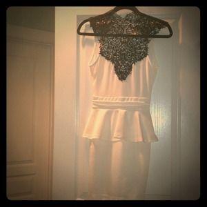 **REDUCED**Sexy Peplum Dress size Small / S
