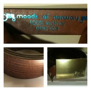 Moods of Norway Accessories - Leather belt