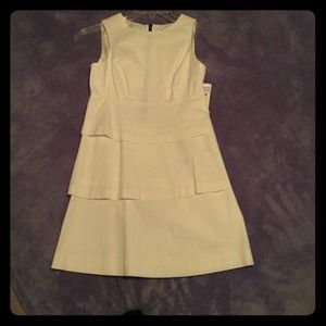 Brand new white tiered Zara dress