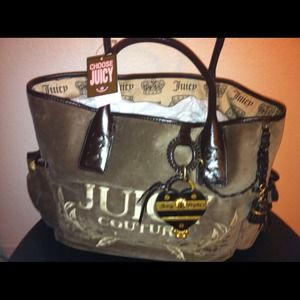 Reduced!! Juicy couture large Tote NWT