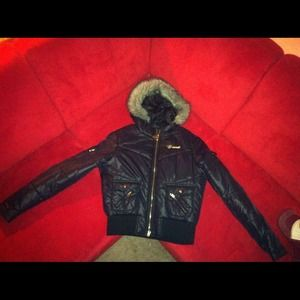 G-unit jacket with fur trim hood $11. Amazing.NWT for sale