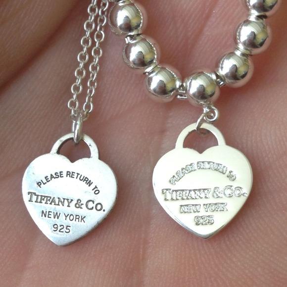 Tiffany Heart Bracelet >> how to spot fake tiffany heart earrings