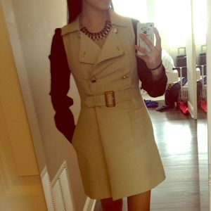 Marc by Marc Jacobs trench dress