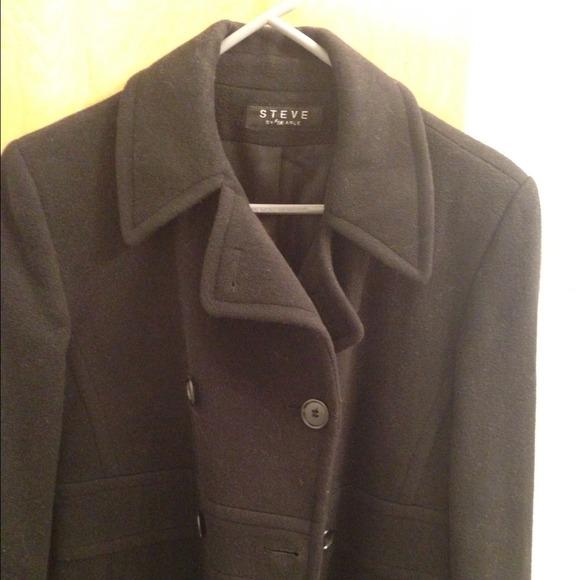 93 Off Steve By Searle Outerwear Long Black Wool Coat