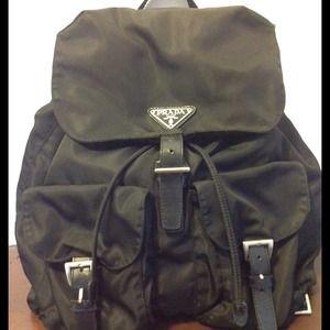 71% off Prada Handbags - Prada backpack in brown. Authentic from ...