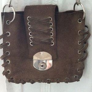 Vintage 70's suede bag