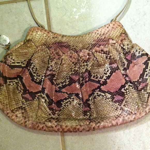 Real Snake Skin Purse From
