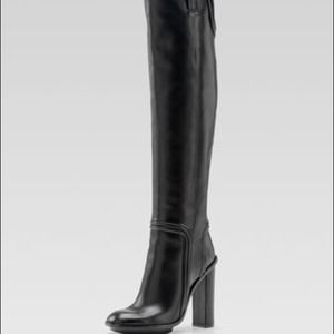 🍭HOST PICK🍭36 Gucci Trish WELT HH Boot Black NWT