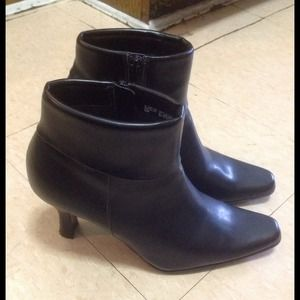 Pointed ankle booties by White Mountain