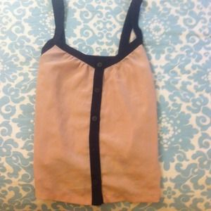 H & M silky top