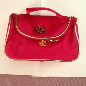 Red with handle make up bag..,,,4