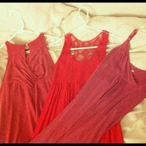 🎀3 hot pink dresses for $20!
