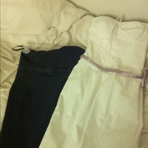 💝 2 strapless Express dresses for $35!