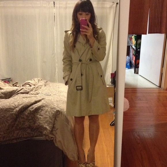 82% off Banana Republic Outerwear - Banana Republic trench coat ...