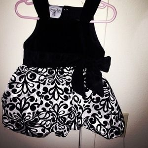 Mudpie damask party dress
