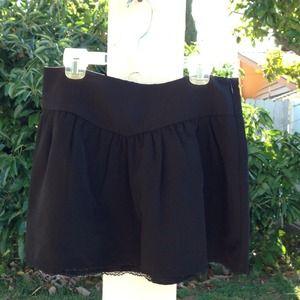 UO lace mini skirt