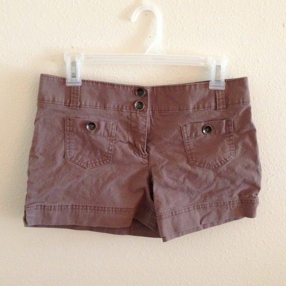 new york & company Shorts - brown shorts