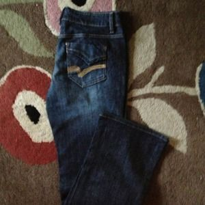 Womans high Sierra jeans never worn sz 8