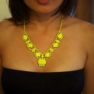 Jewelry - 🎉HP 11/16🎉 - Chunky neon yellow necklace