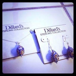Dillard's  Jewelry - Sterling Silver Set by Dillard's