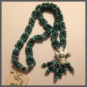 Cactus bead necklace
