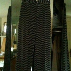 Pants - REDUCED!Vintage Black / Silver Crystal Dress Pant