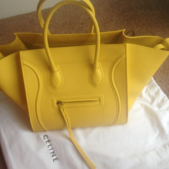 6ad9ebf72f Celine Yellow Phantom Luggage