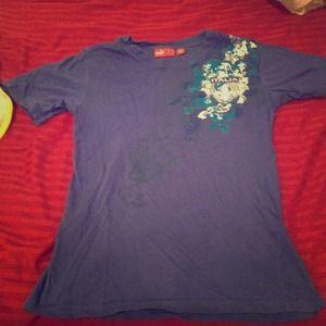 ✂REDUCED✂Blue Puma italia tee shirt top size small