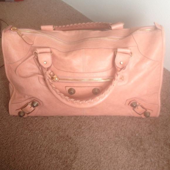 off Balenciaga Handbags Baby Pink Balenciaga from