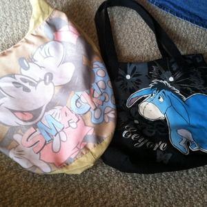 "Mini n Mickey Mouse ""smack"" purse, n black""Eeyore."