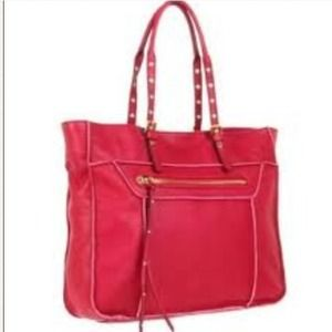 Steve Madden Handbags - 🚫RESERVED🚫Steve Madden France tote in rasperry.