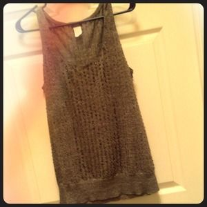 ***Reduced***J Crew tank sequined sweater