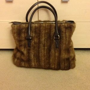 Handbags - Faux fur bag