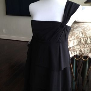 Robert Rodriguez Black Cotton Sun Dress
