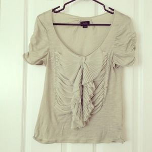 Anthropologie top, deleta brand